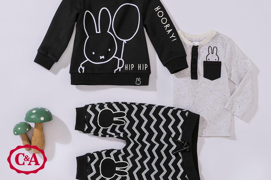 baby shopgids kraamcadeau met logo C&A