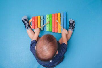 Speelgoed voor 1 jaar muziekinstrument