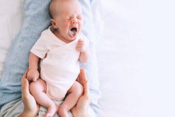 Spruw: Baby met een witte tong