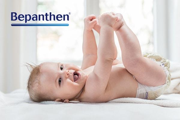 Baby 5 maanden oud, babyzalf