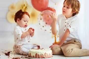 Baby spelletjes feest