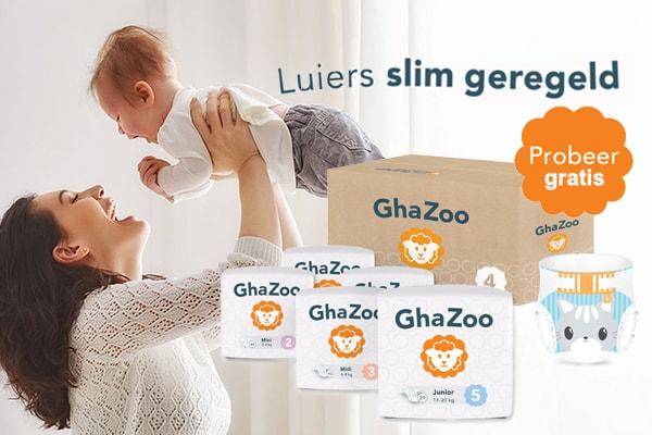 Baby 9 weken oud, GhaZoo