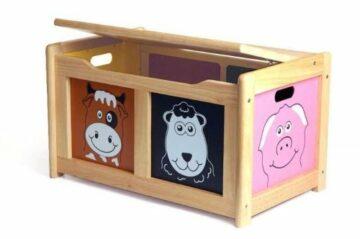 houten speelgoedkist