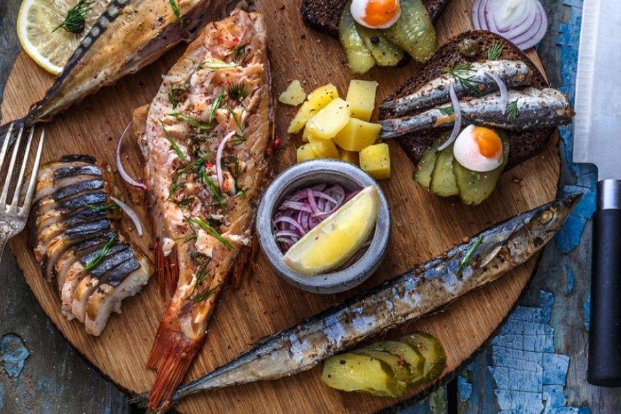 Fish platter