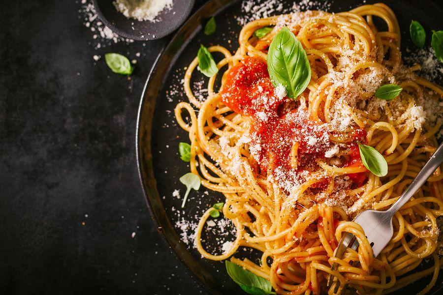 Spaghetti met Parmezaanse kaas, kan je gewoon eten tijdens je zwangerschap