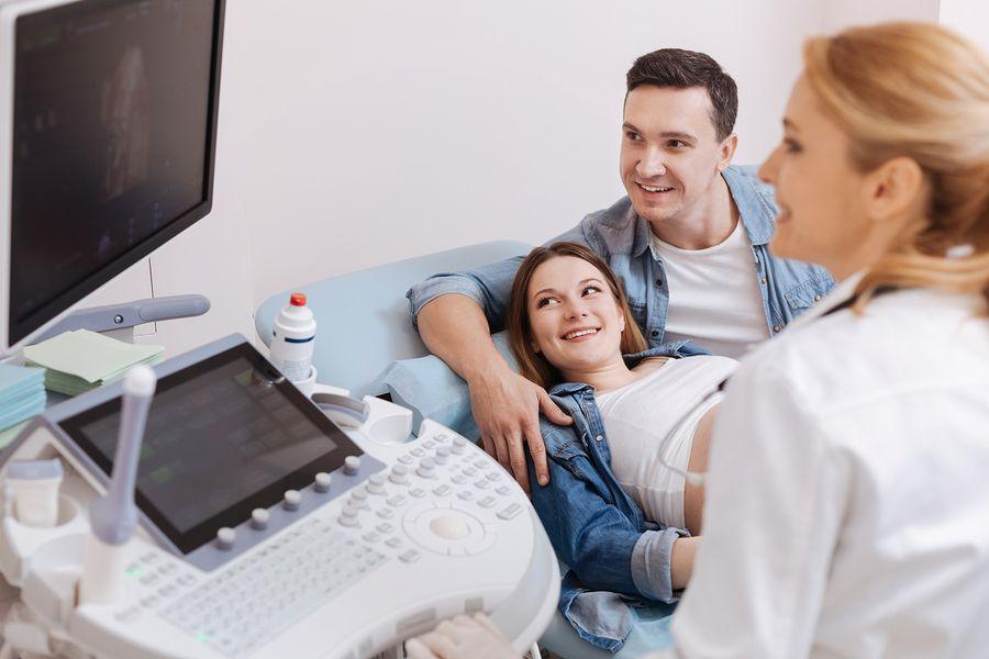 Termijnecho in maand 3 van de zwangerschap