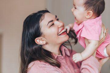 Moeder met baby heeft goede weerstand