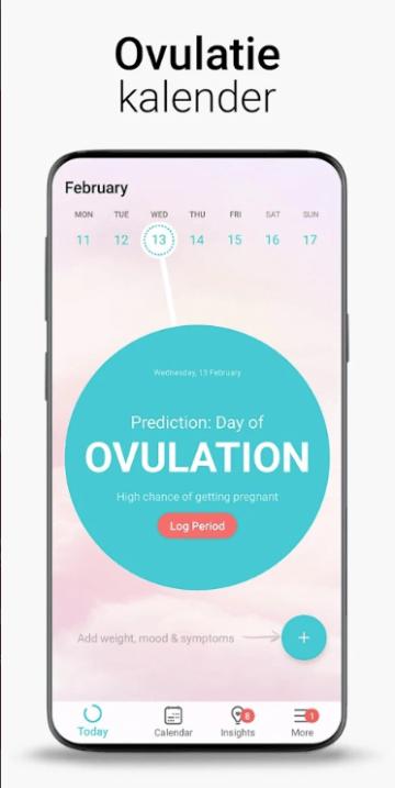 menstruatie-app flo