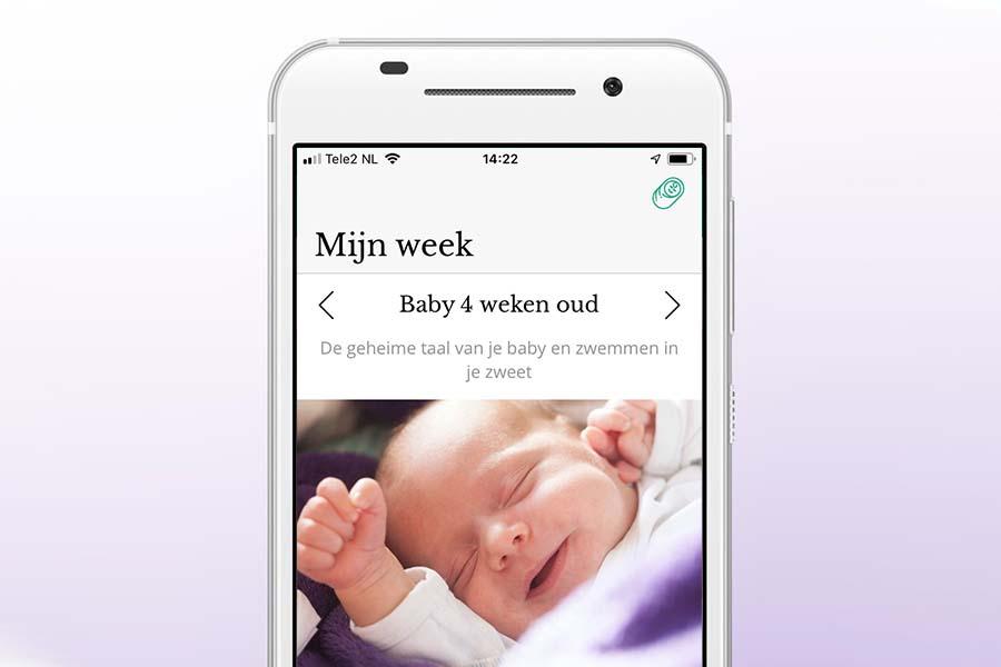 24Baby.nl app - ontwikkeling baby