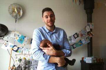 Vader Jordy vertelt over het vaderschap