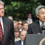 Emperor-Akihito-Bill-Clinton