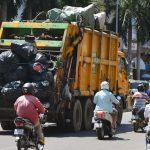 Cintri-S-truck-load-garbage-along-Street-Rachana