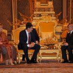 Hungary-Visit-Cambodia-King