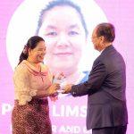 Ms. Pong Limsan won an award from MPTC