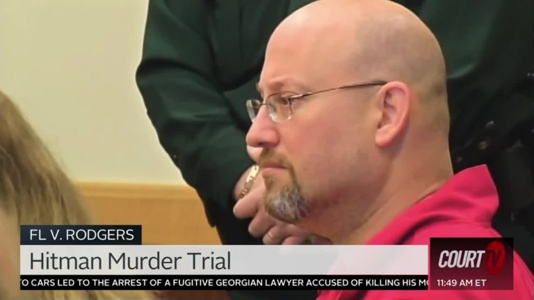 Mark Sievers in court