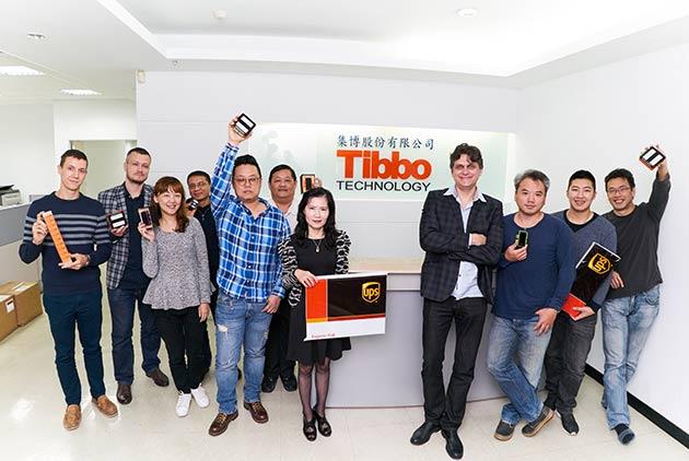 全球物聯網科技先驅Tibbo與UPS攜手,搶佔AIoT商...