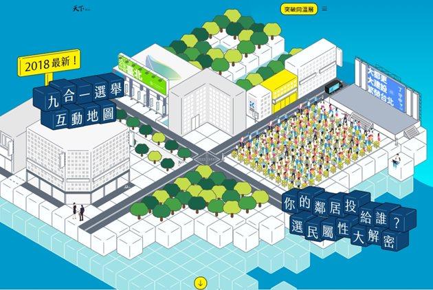 找出鄉親們怎麼投票!2018「台灣選舉地圖」幕後製作大揭密