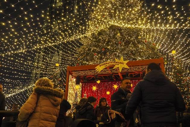德國三大聖誕市集,聖嬰、熱紅酒、海盜船...