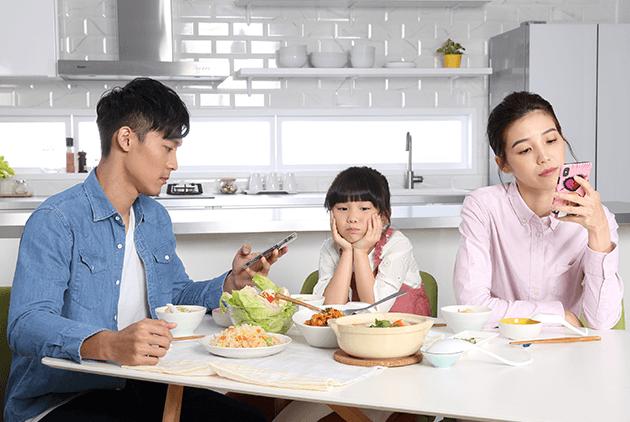 35%家庭是冰冷餐桌? 好好說頓飯,減少孩子成長的情緒風暴