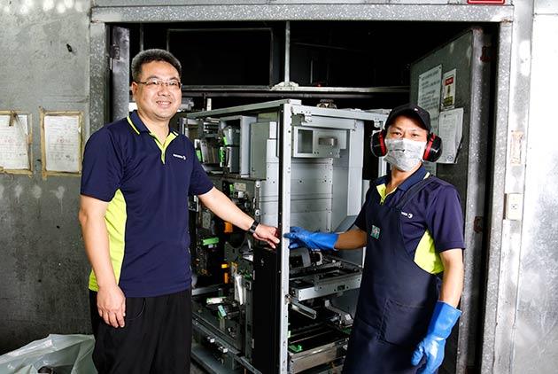 台灣富士全錄讓地球更綠更美  廢棄物變資源物