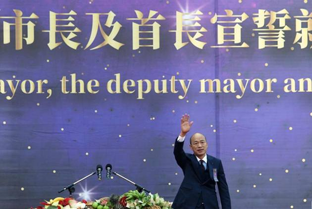新市長就任 當經濟碰觸到兩岸時 韓國瑜:中央要尊重地方
