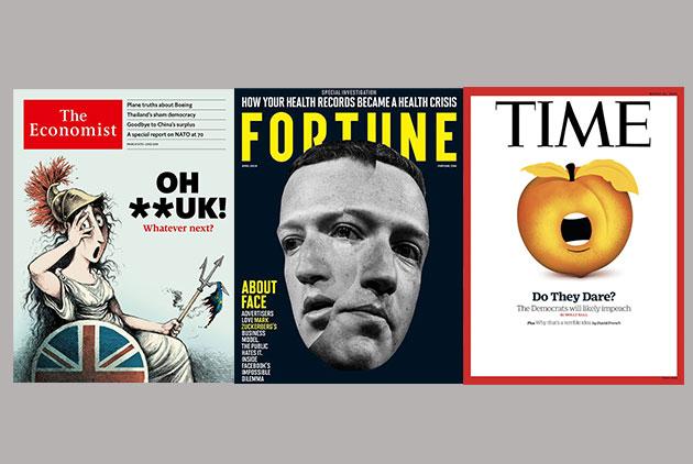 外媒封面掃描:臉書成了人類控制不了的災難|彈劾川普,民主黨敢嗎?|被脫歐逼瘋的梅伊,做兩件事解套