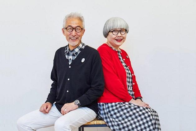 白髮穿搭迷倒全球80萬粉絲 日本60歲網紅夫妻bonpon做了什麼?}