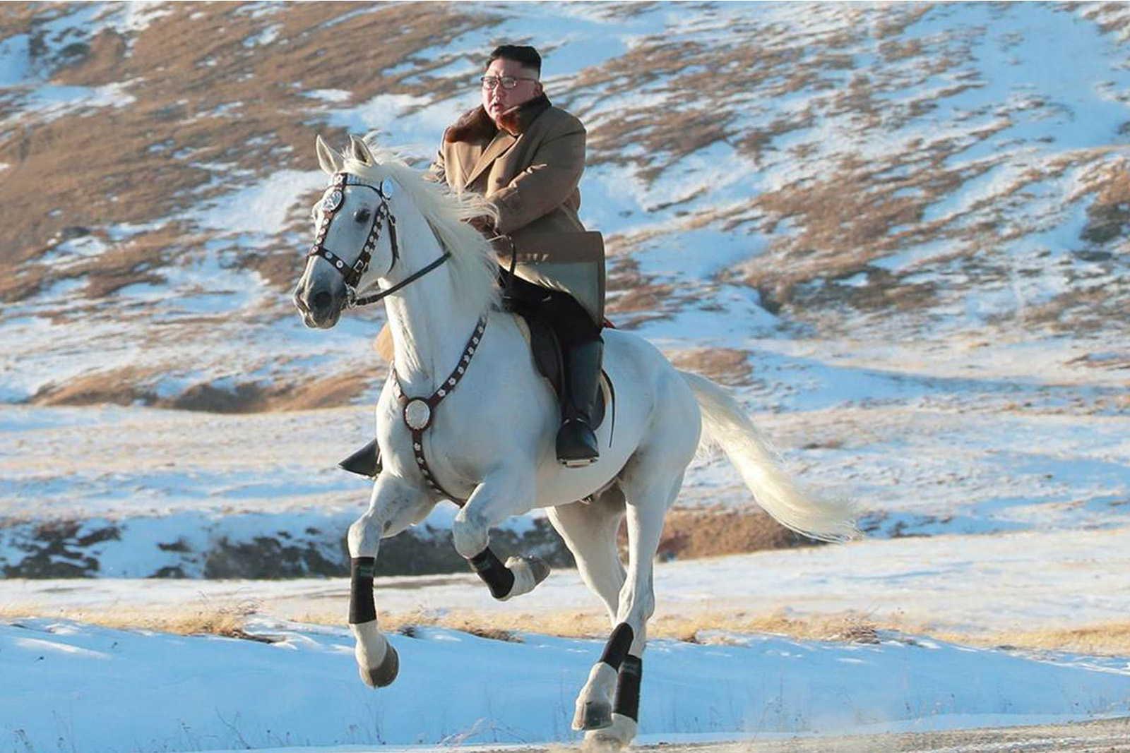 金正恩騎白馬,是想要表達什麼?