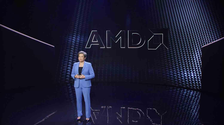 AMD執行長蘇姿丰,在CES上大出鋒頭