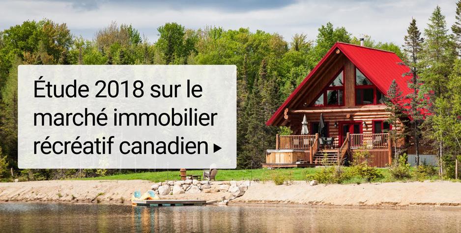 Étude 2018 de Royal LePage sur le marché immobilier récréatif canadien