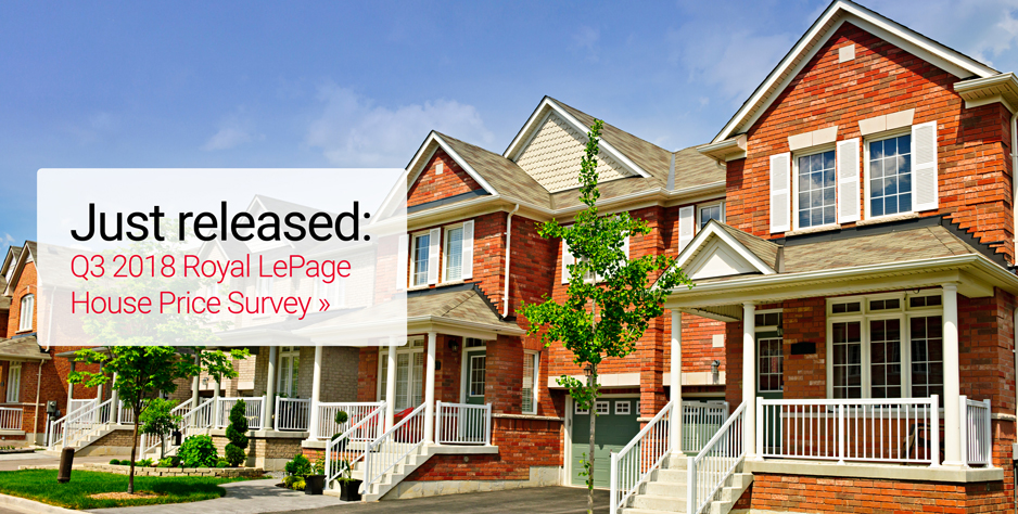 Q3 2018 Royal LePage House Price Survey