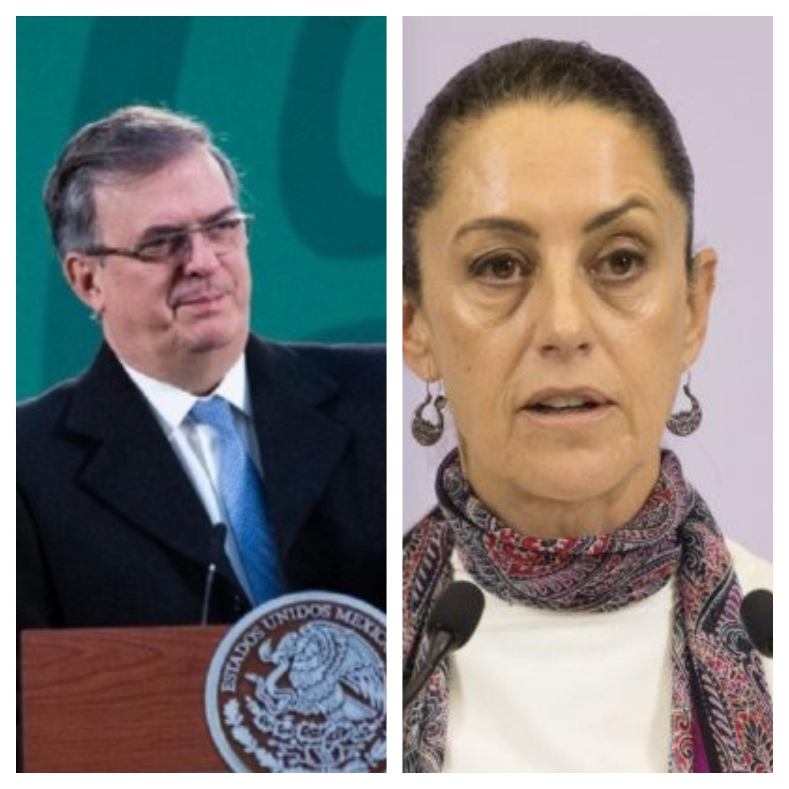 ¿Sheinbaum o Ebrard; quién será el candidato para la presidencia 2024?