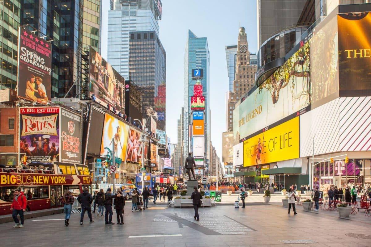 Evacuan Times Square y el Capitolio por amenazas de bomba