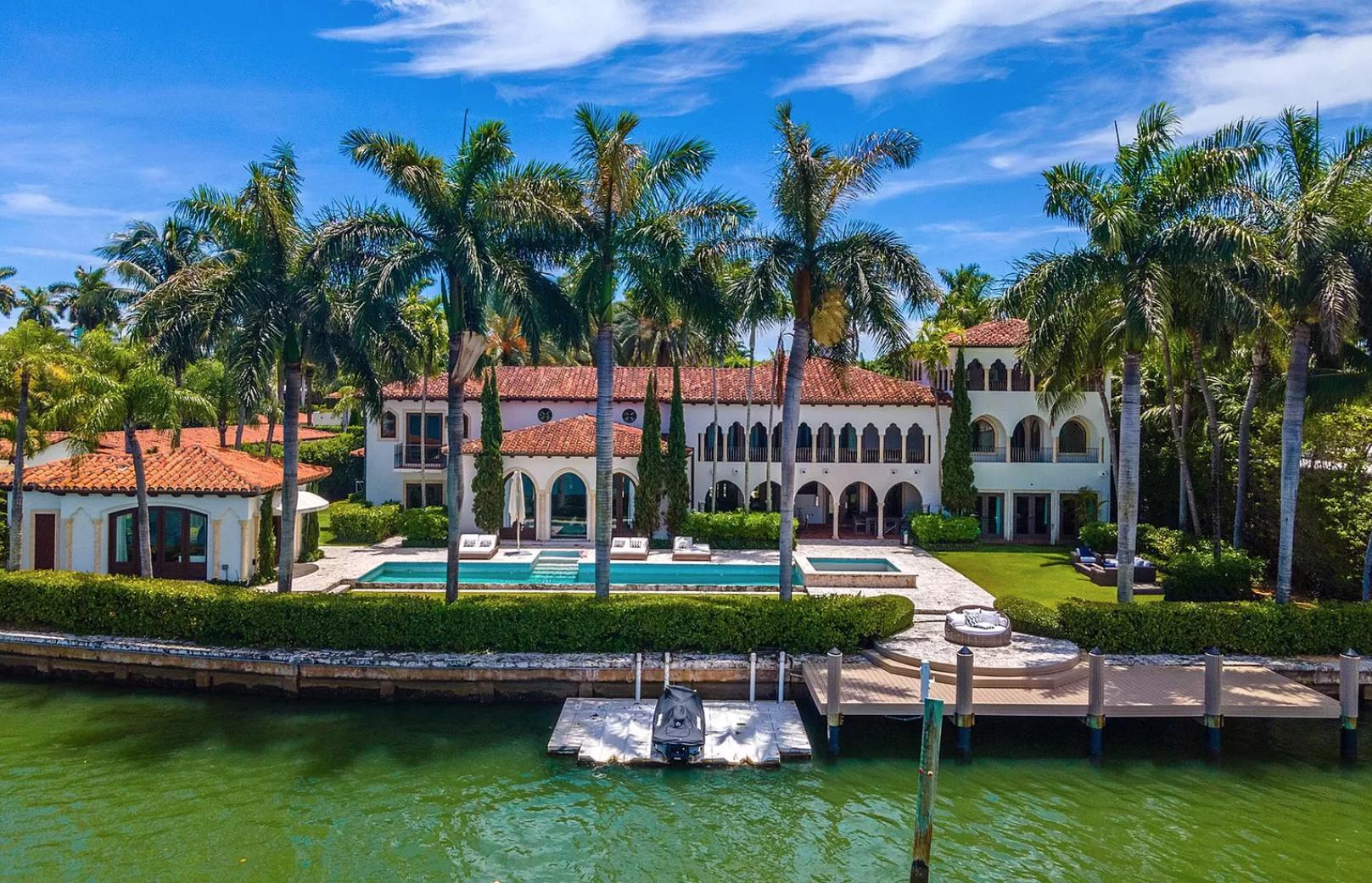 La mansión de 15.5 millones de dólares de Inés Gómez Mont y su esposo