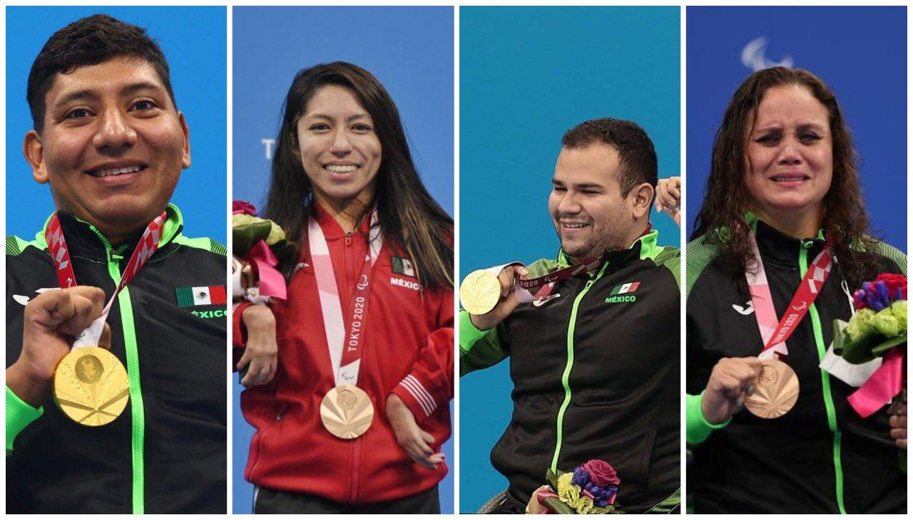 México gana seis medallas en un día, su mejor marca hasta el momento
