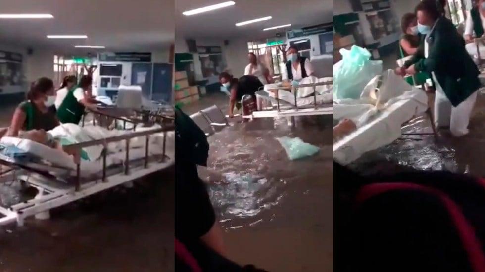 Así se ven las inundaciones en Tula, Hidalgo y Ecatepec