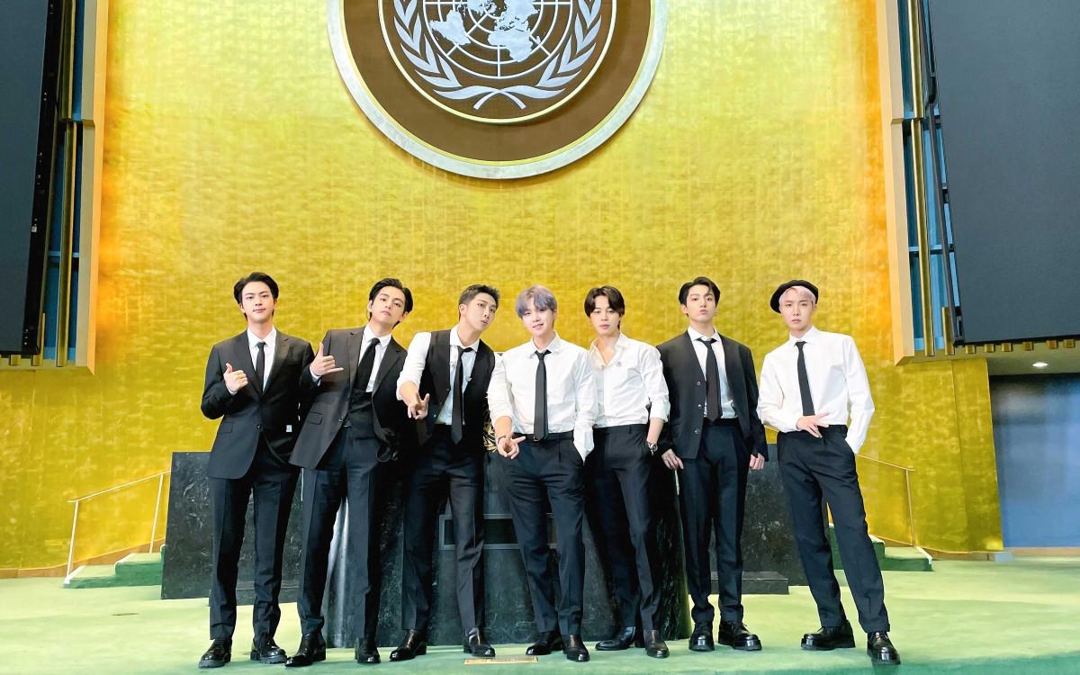 BTS en la ONU para hablar del cambio climático, la pobreza y la pandemia
