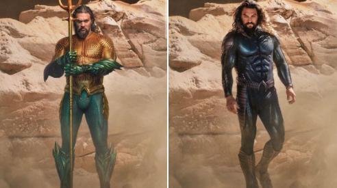 nuevo traje Aquaman