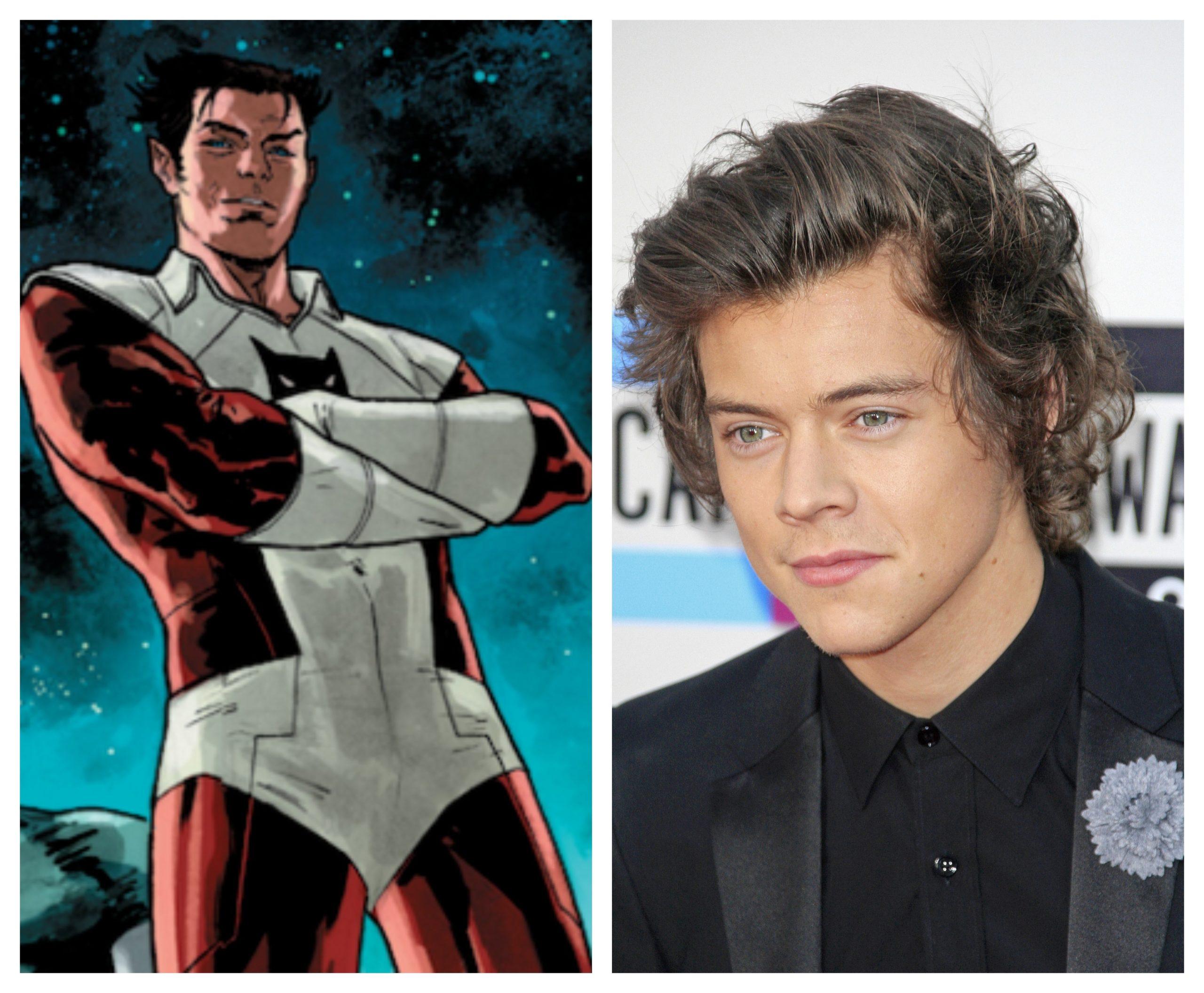 "Harry styles se une a Marvel, será ""Eros"" hermano de Thanos"
