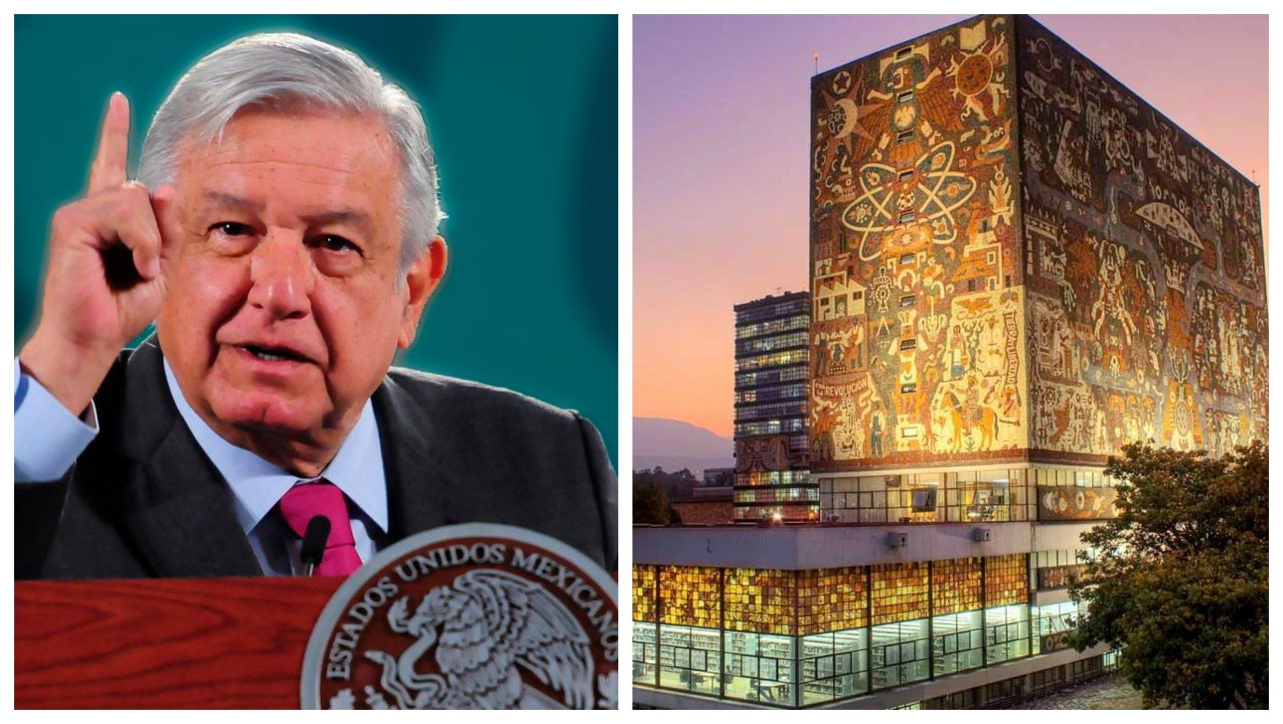 UNAM responde a las acusaciones de Andrés Manuel López Obrador