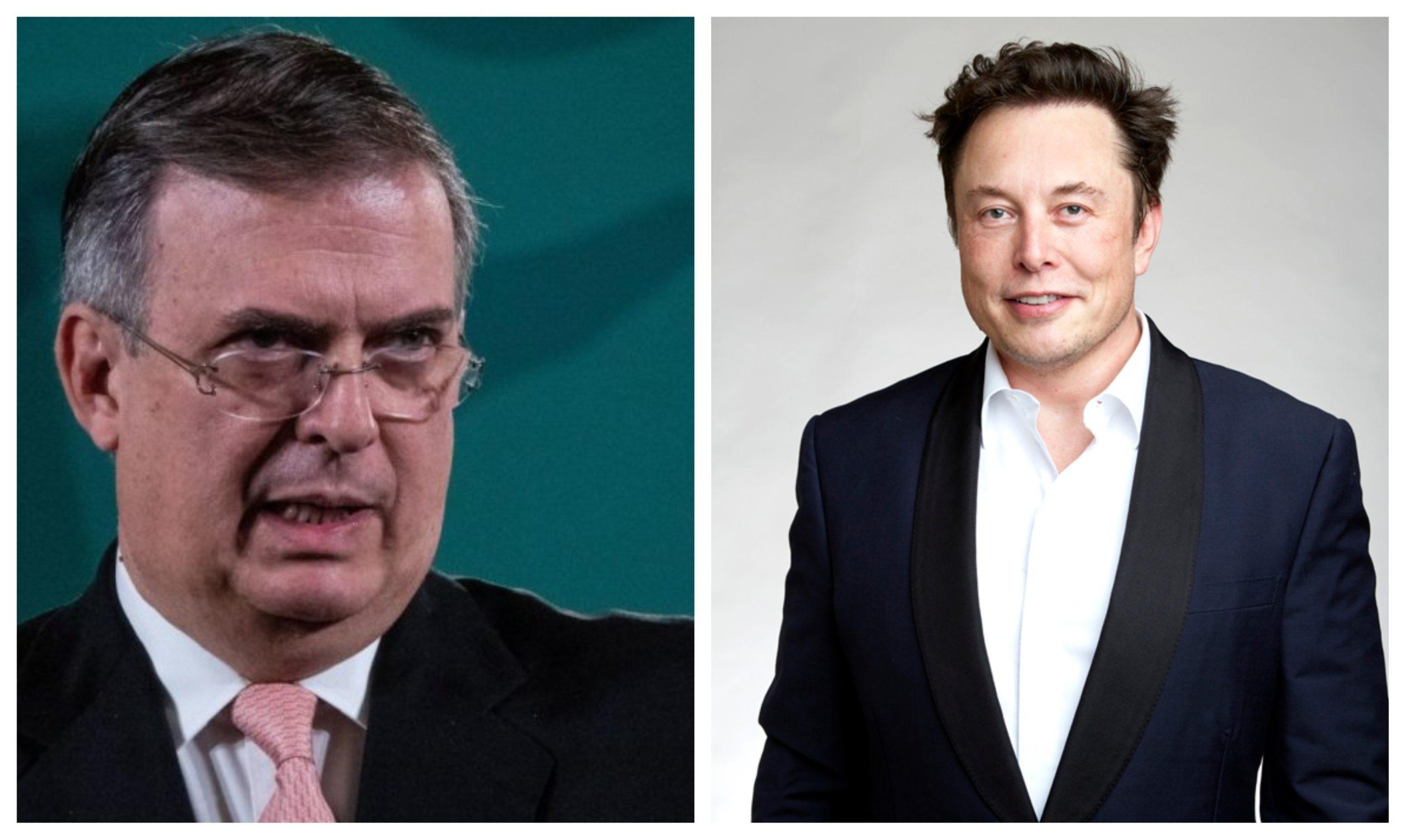 ¿De qué hablaron Ebrard y el empresario Elon Musk?