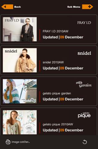 株式会社フェイス Image Catcher for Fashion iPhone版スクリーンショット1