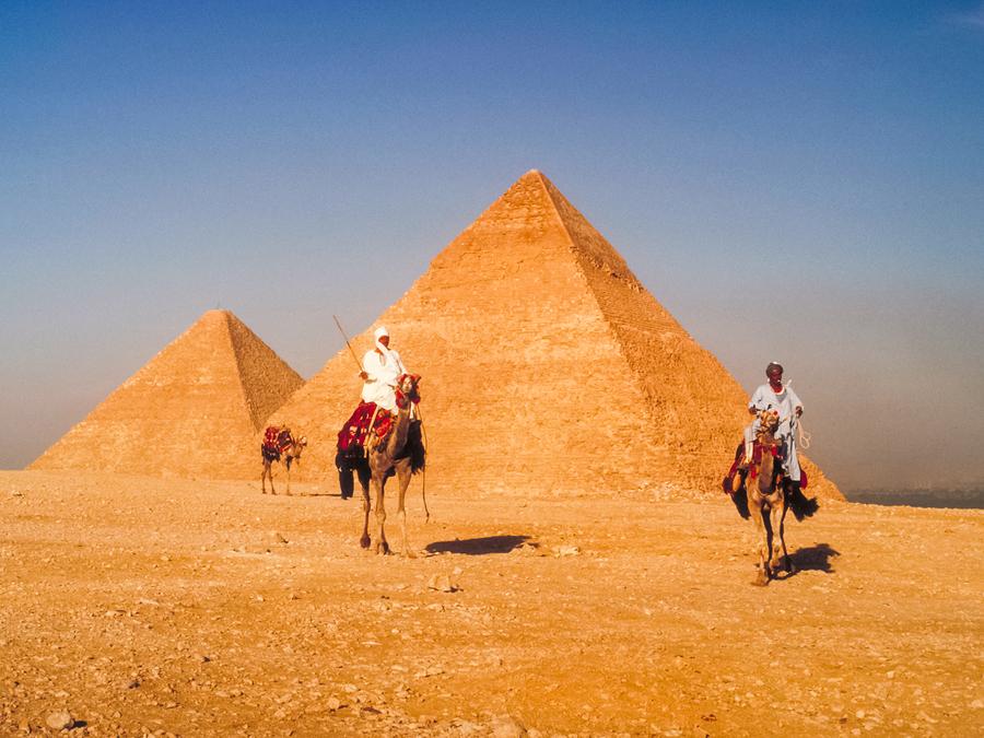 Foto de las pirámides de Egipto