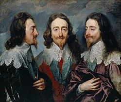 Cuadro de triple retrato