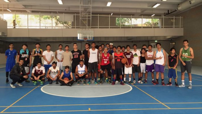 Sport Activity – Basketball Competition