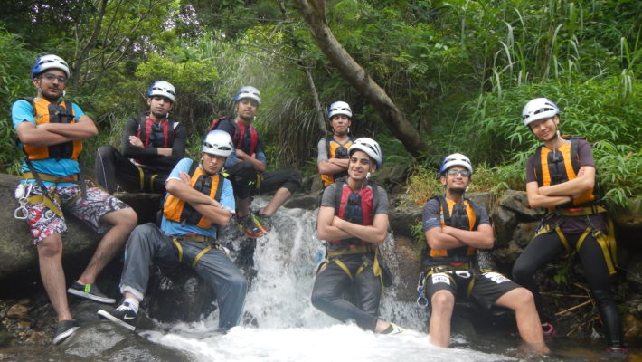 Adventure training – Canyoning