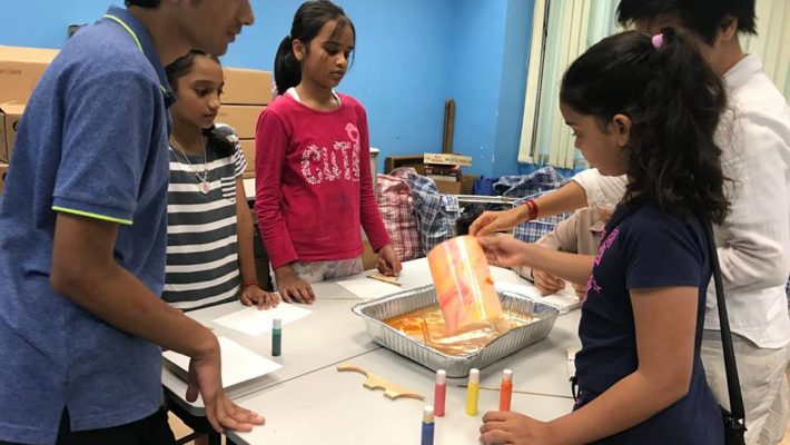 Marbeling Art Activity