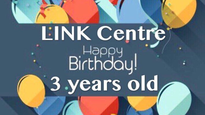 LINK Centre 3 years old birthday