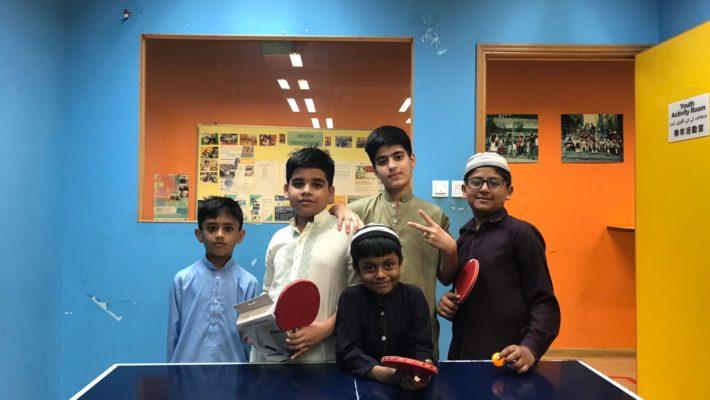 Mini Table tennis tournament