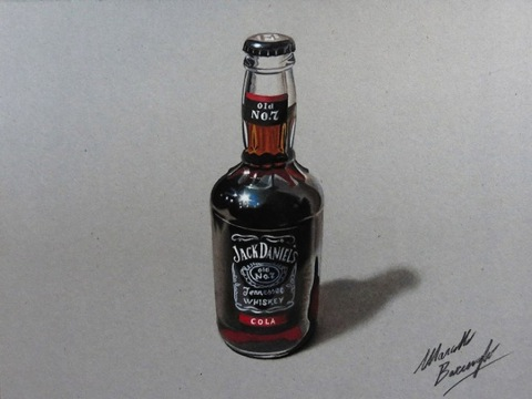 Dibujos-hiperrealistas-botella-660x495